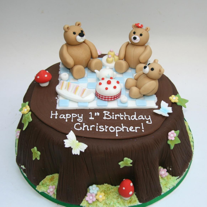 Teddy Bear Picnic Cake Etoile Bakery