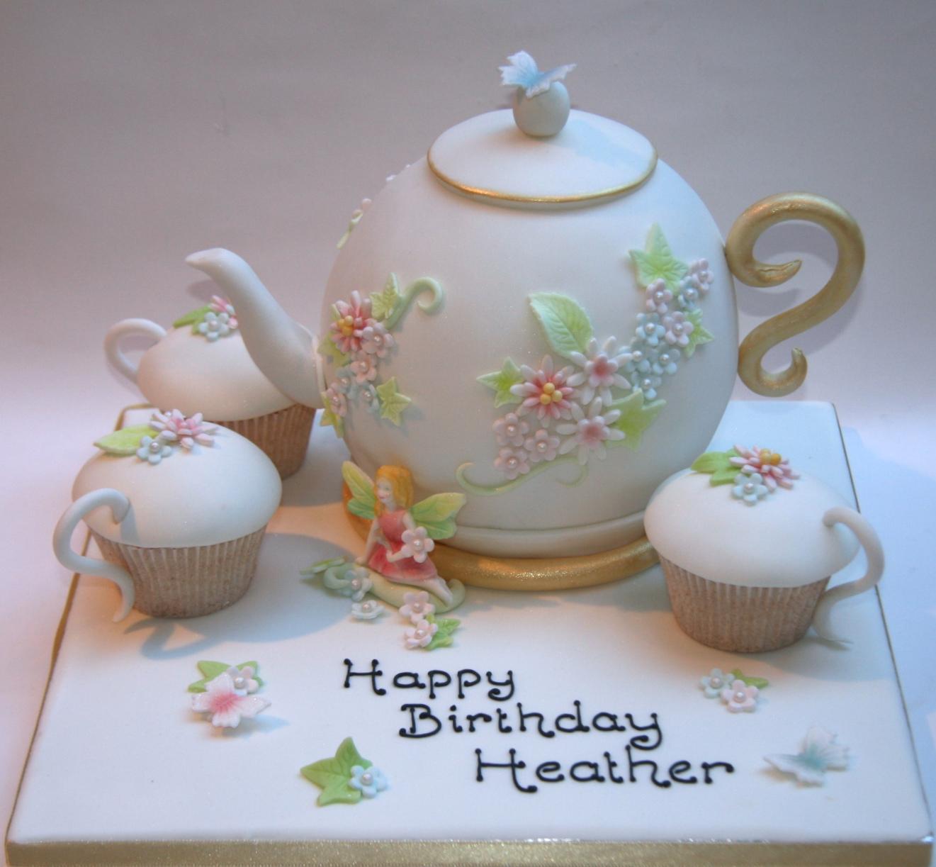 Fine China Teapot Cake Etoile Bakery
