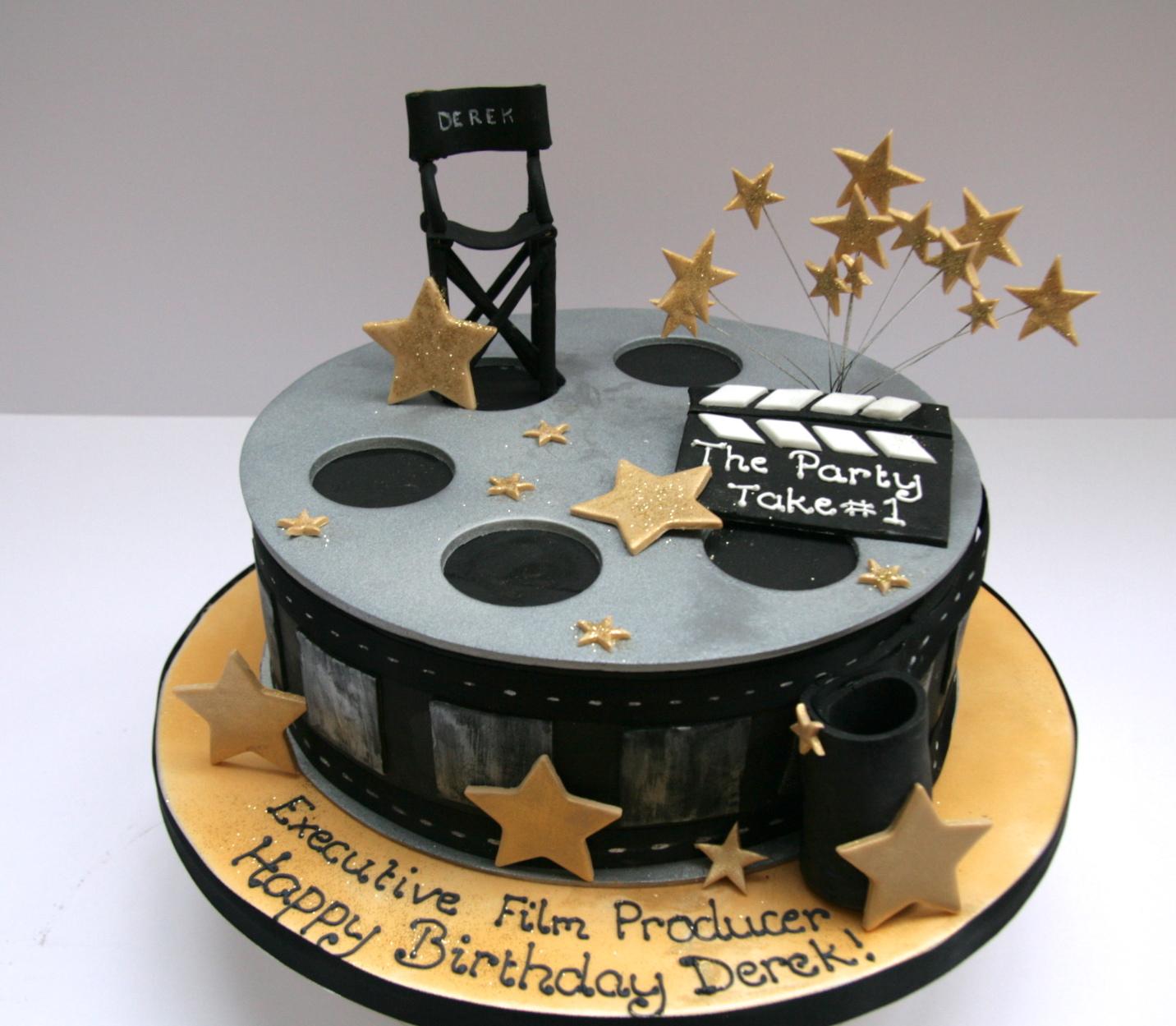 Film Producer Cake Etoile Bakery