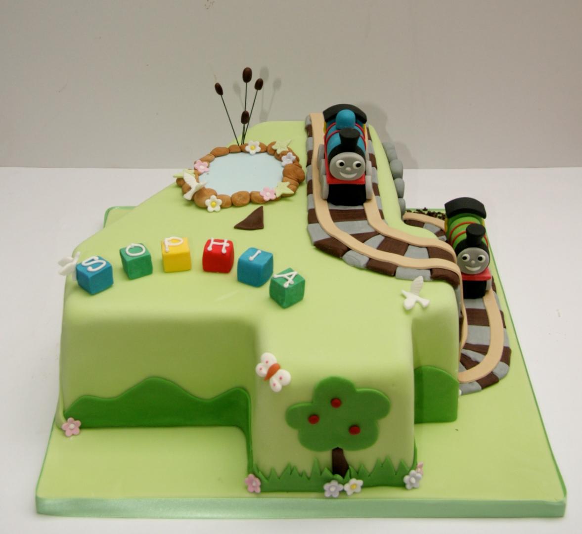 Thomas Number 4 Cake Etoile Bakery