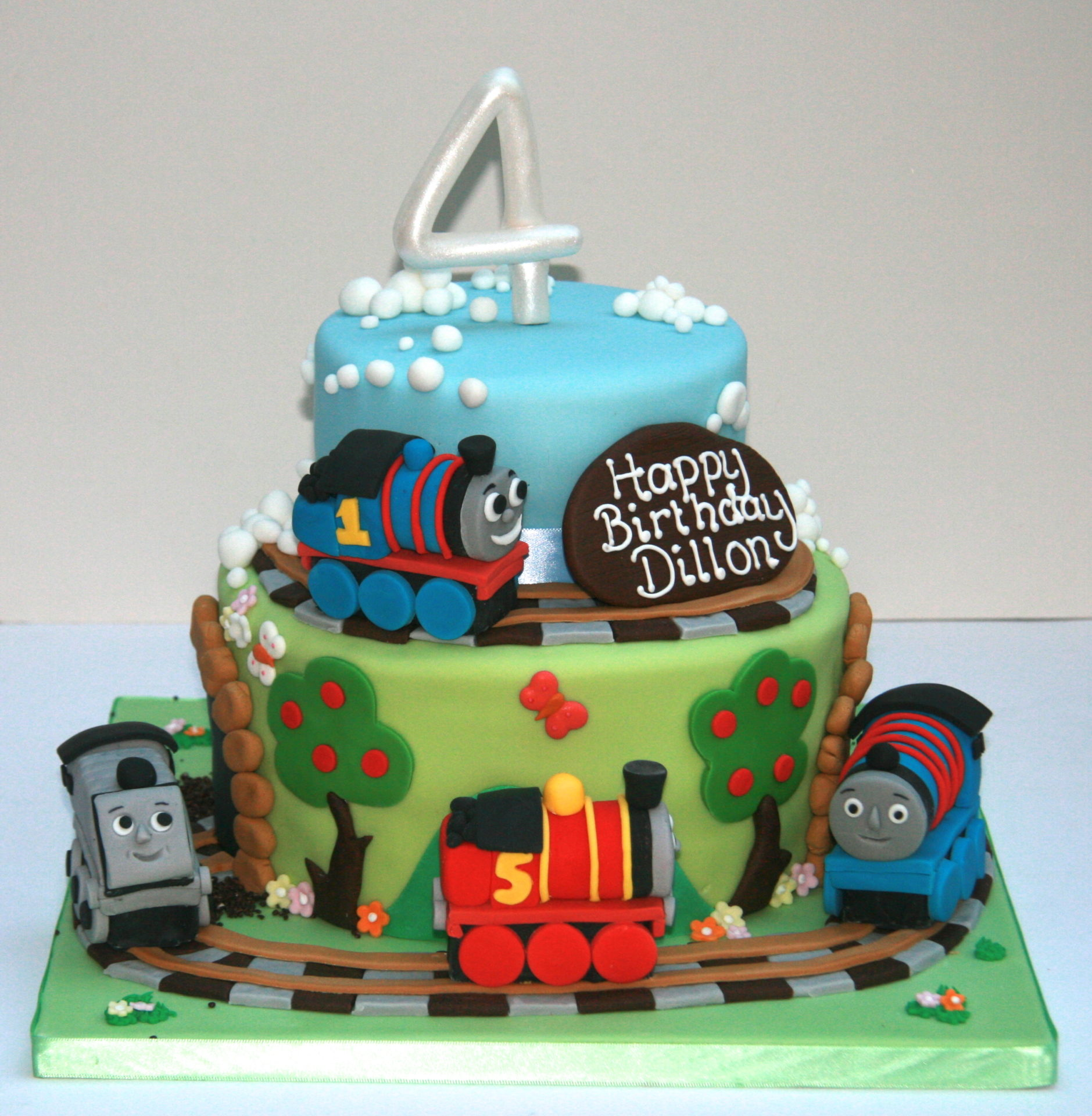 Groovy Thomas Birthday Cake Etoile Bakery Personalised Birthday Cards Sponlily Jamesorg