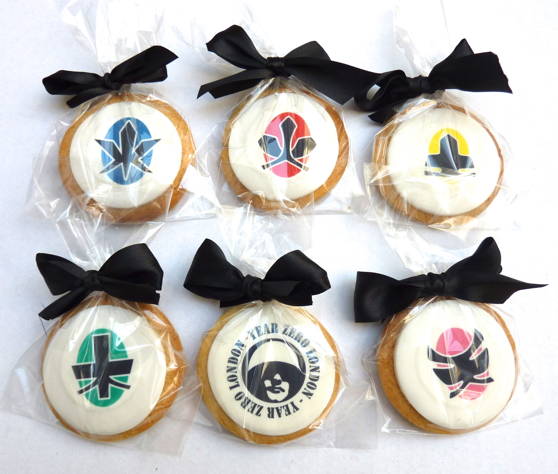 Power Rangers Bespoke Biscuits