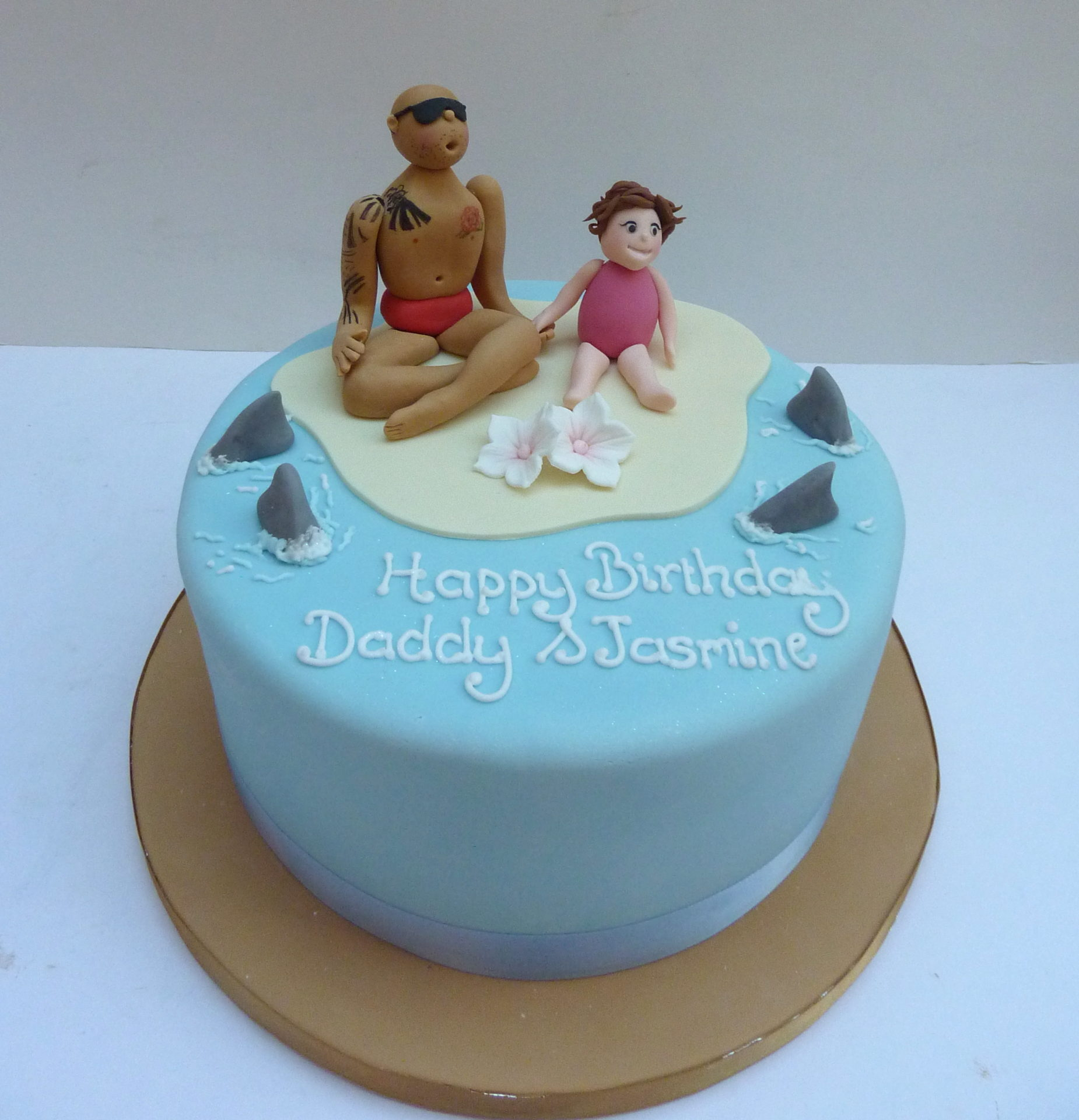 Fantastic Beach Birthday Cake Etoile Bakery Funny Birthday Cards Online Necthendildamsfinfo