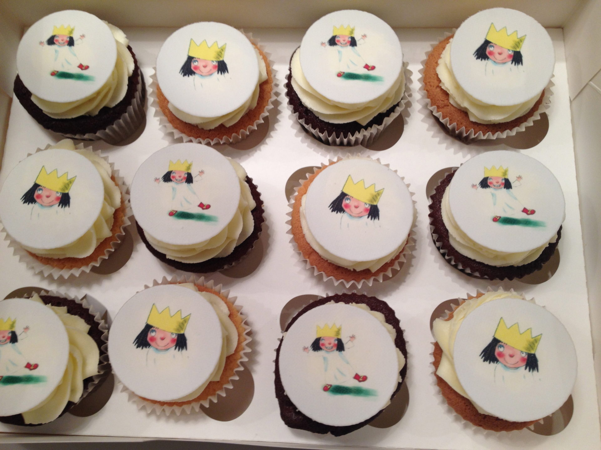 My Little Princess Cupcakes