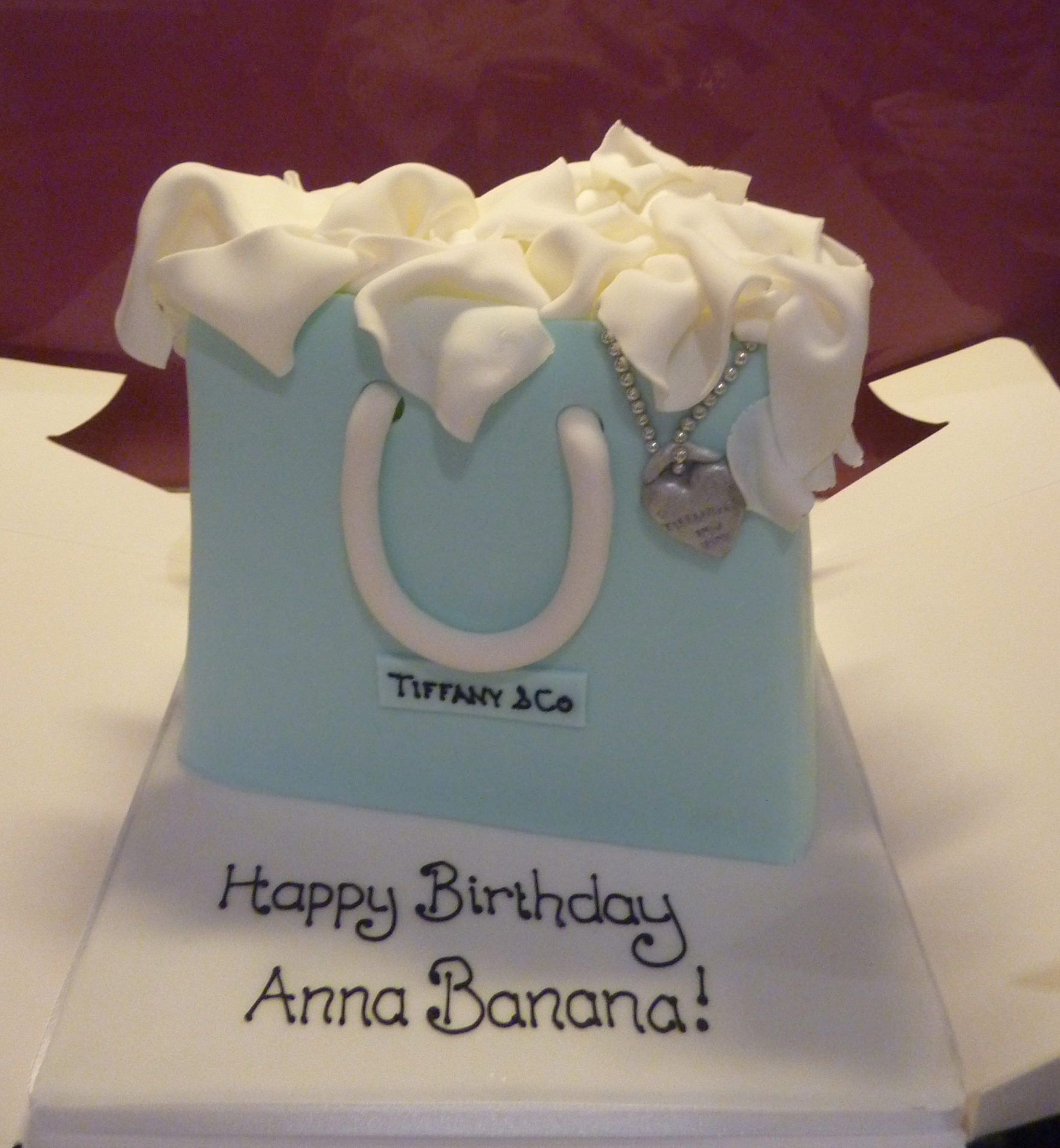 Tiffany Bag Birthday Cake