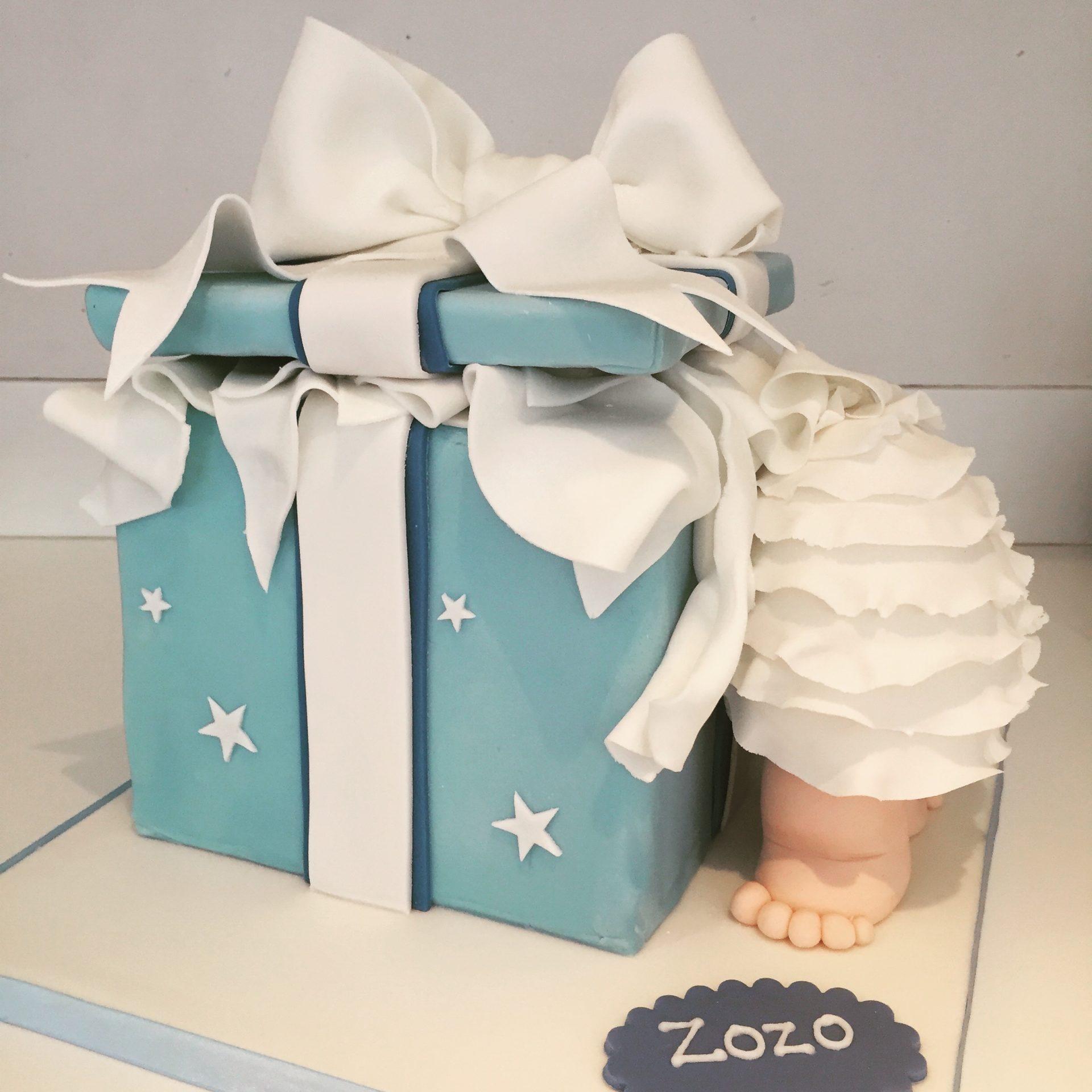 Baby Present Cake