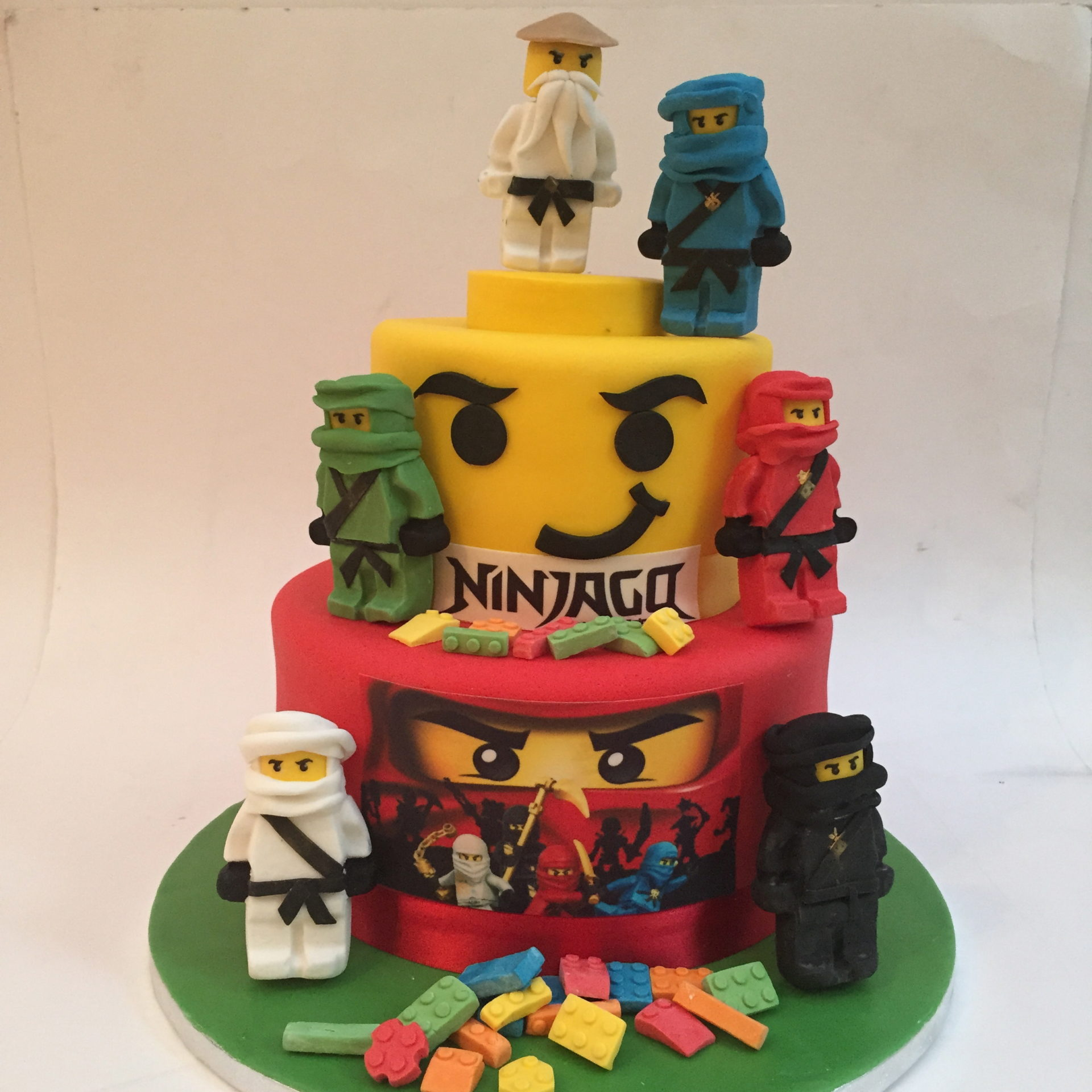 Astounding Ninjago Birthday Cake London Etoile Bakery Funny Birthday Cards Online Inifofree Goldxyz