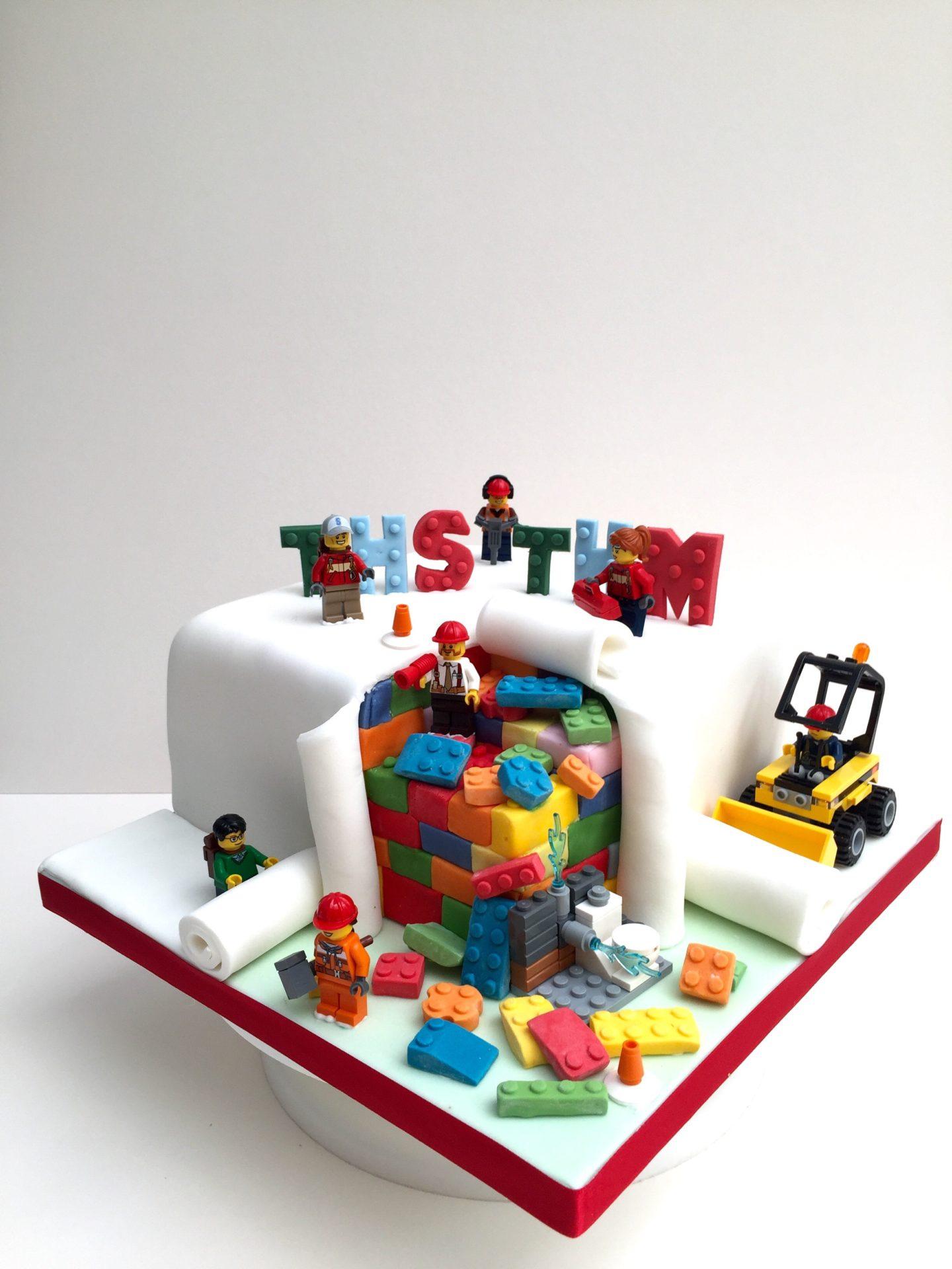 Lego Birthday Cake Etoile Bakery