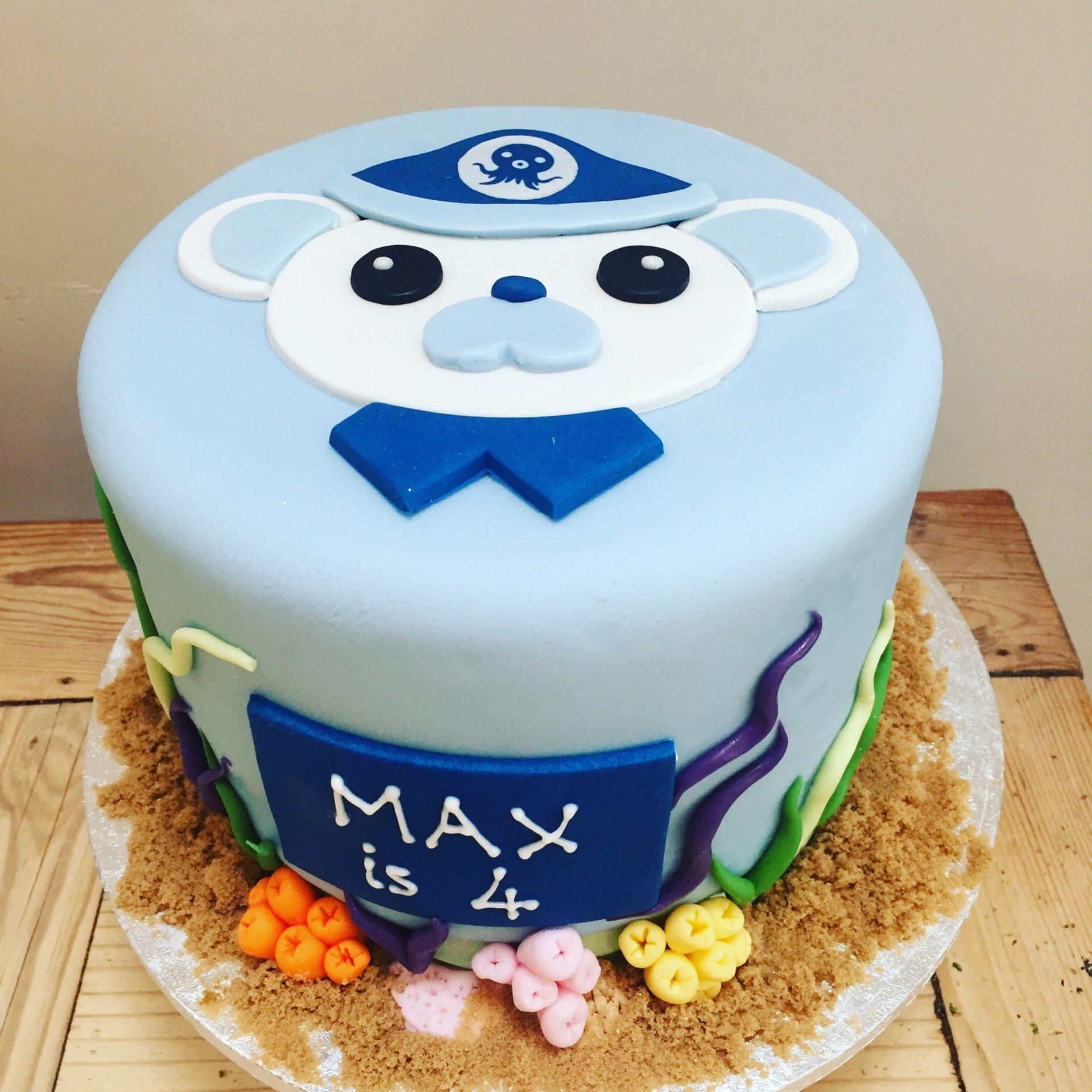 Stupendous Barnacle Octonauts Cake Etoile Bakery Funny Birthday Cards Online Necthendildamsfinfo