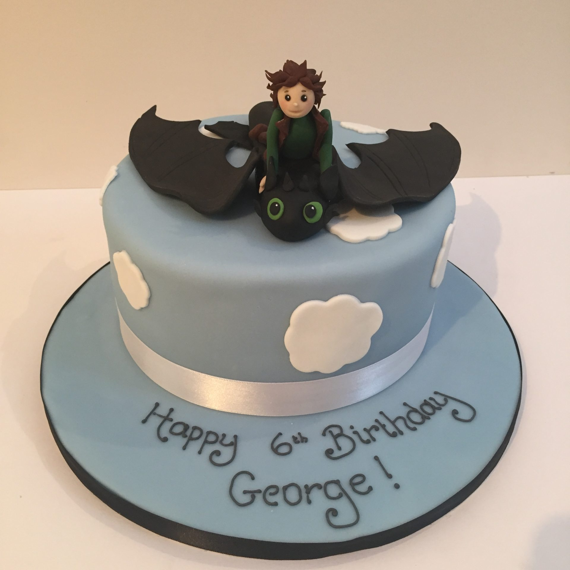 Super Flying Toothless Cake How To Train A Dragon Birthday Cake Personalised Birthday Cards Veneteletsinfo
