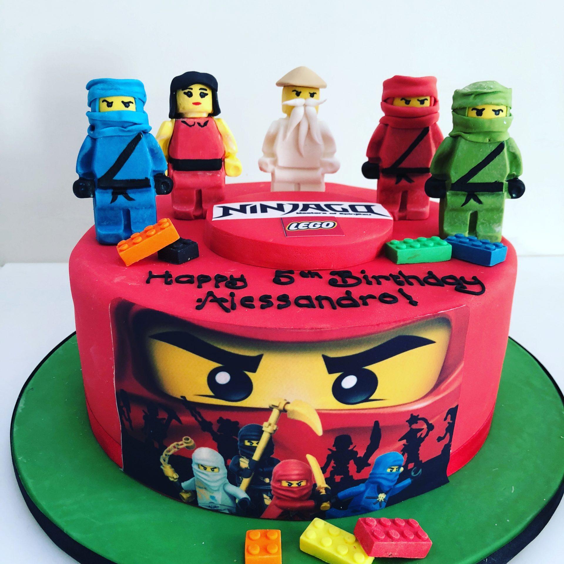 LEGO Ninjago Cake - Etoile Bakery