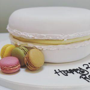 Giant Macaron Cake