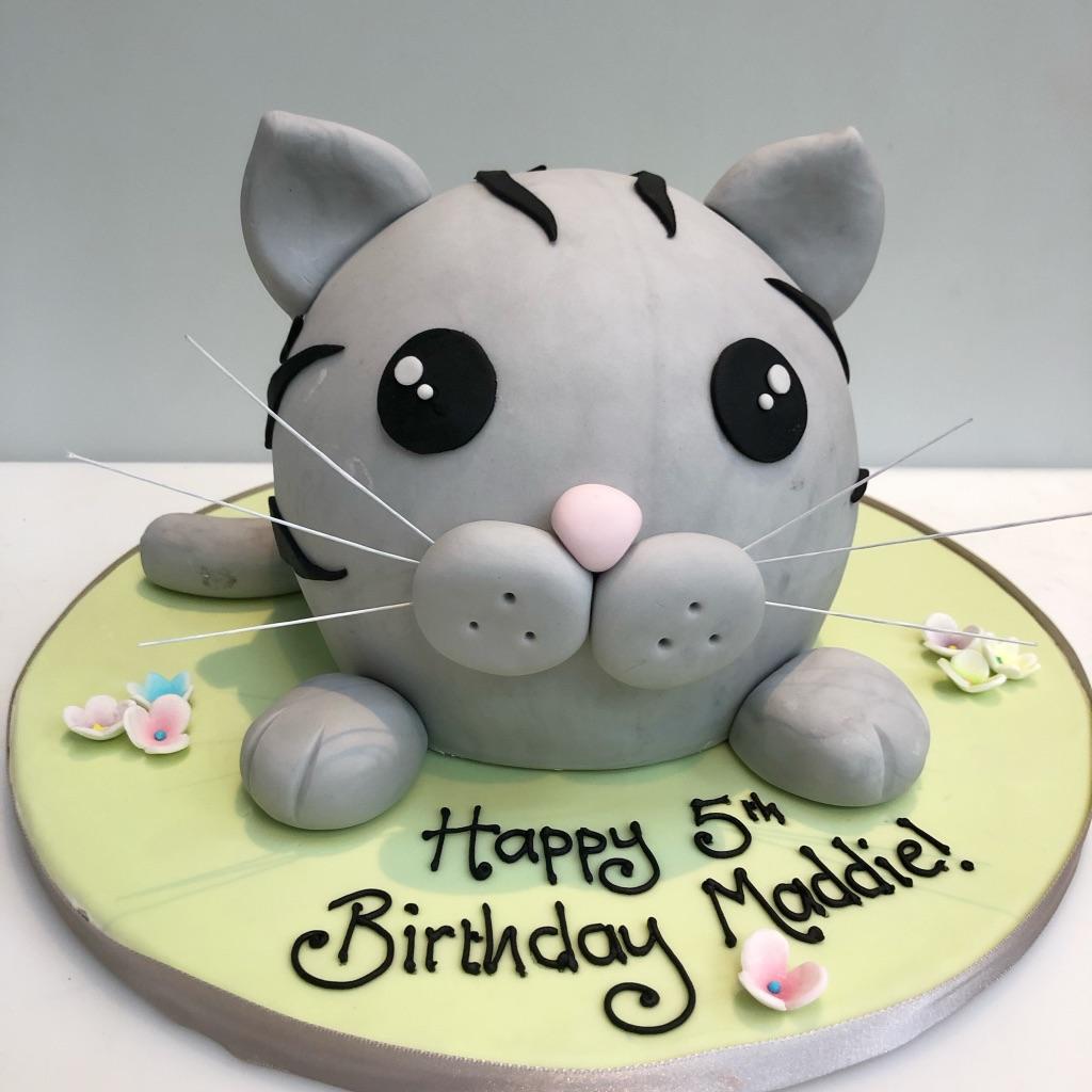 Pussy Cake Birthday Cake