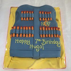 Nerf Jacket Cake
