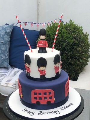 Toy Soldier Cake