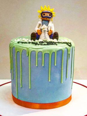 Science Chemistry Cake