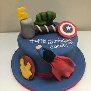 Marvel Super Hero Cake