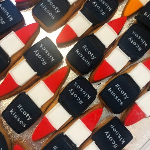 Bespoke Lipstick Biscuits for Coty