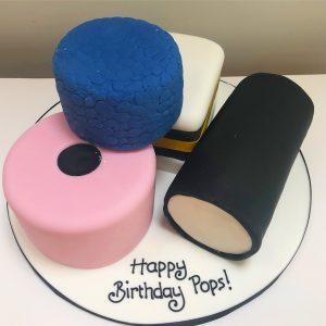 Liquorice Allsorts Birthday Cake