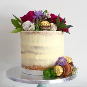 Ferrero Roche Semi Naked Cake