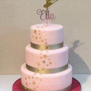 Ballet and Stars Cake