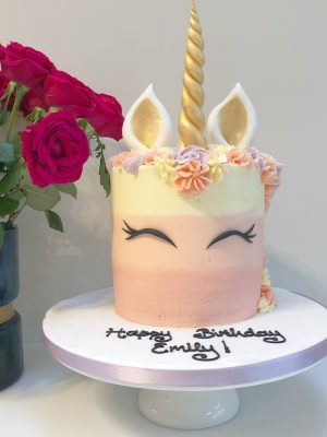 Buttercream Unicorn Cake
