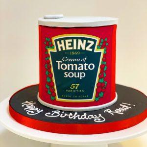 Tin of Tomato Soup Cake