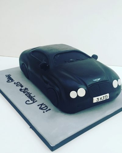 Bentley Car Cake