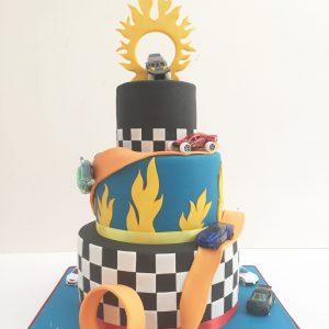 Hotwheels birthday cake