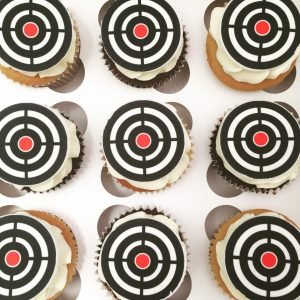 Charity Themed Cupcakes