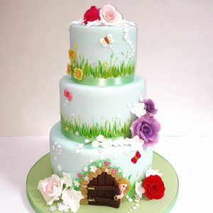 Secret Garden Birthday Cake