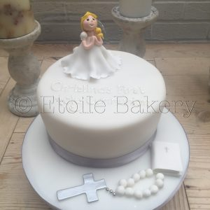 Girl's Holy Communion Cake London