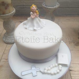 Girl's Holy Communion Cake London