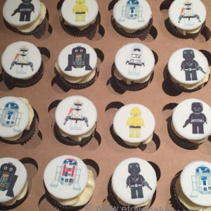 Star Wars Mini Cupcakes