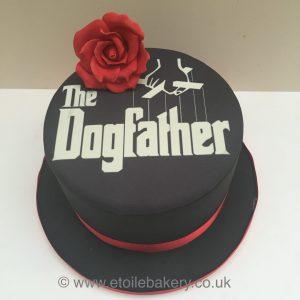 Dogfather cake