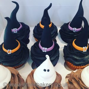 Ghost and Witches Cupcakes