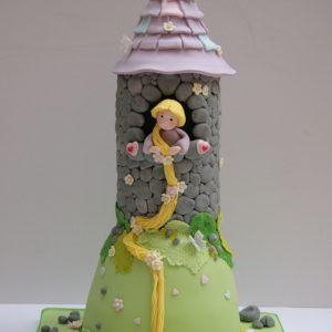 Rapunzel in Her Tower