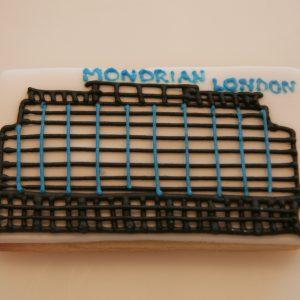 Mondrian Hotel Building Biscuits