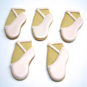 Ballet Shoe Biscuits