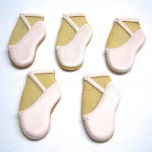 Ballet Shoe Biscuits