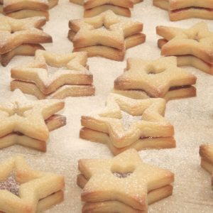 Star Biscuits for Photoshoot