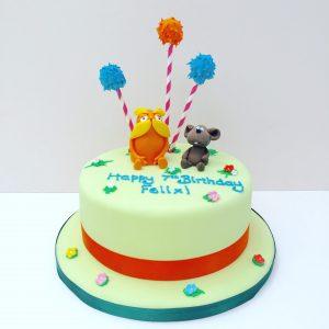 Lorax Birthday Cake