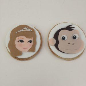 Princess Sofia Hand Cut Biscuits