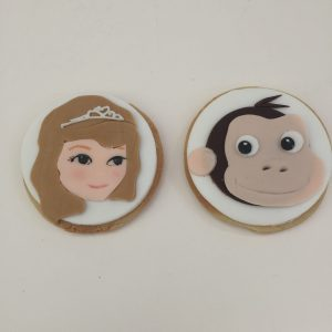 Princess Sofia Hand Cut Biscuits