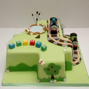 Thomas Number 4 Cake