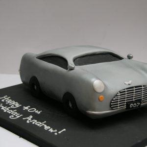 Aston Martin James Bond Cake
