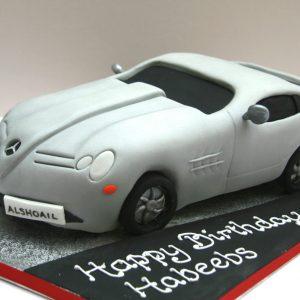 Mercedes Sports Car Birthday Cake