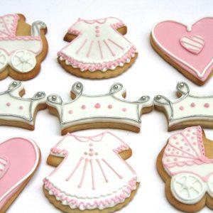 Bespoke Babyshower Biscuits