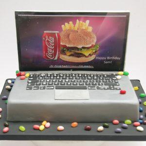 MacBook Pro laptop cake
