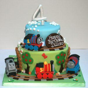 Tiered Thomas Birthday Cake